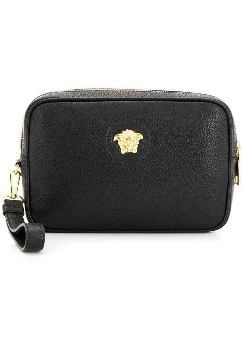 Versace logo clutch bag
