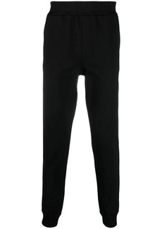 Versace logo-embroidered track pants