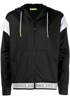 Versace logo hem hoodie