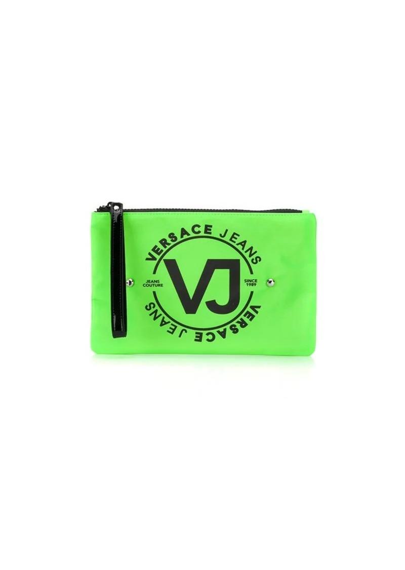 Versace logo makeup bag