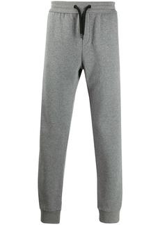 Versace logo patch track pants