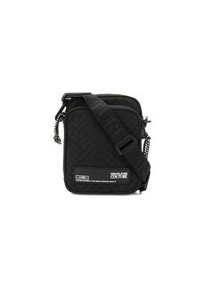 Versace monogram compact messenger bag