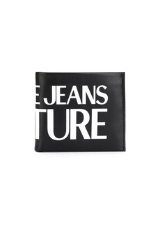 Versace logo-print bi-fold wallet