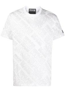 Versace logo print short-sleeved T-shirt