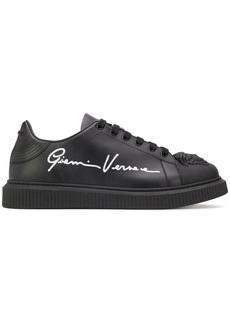 Versace logo print sneakers