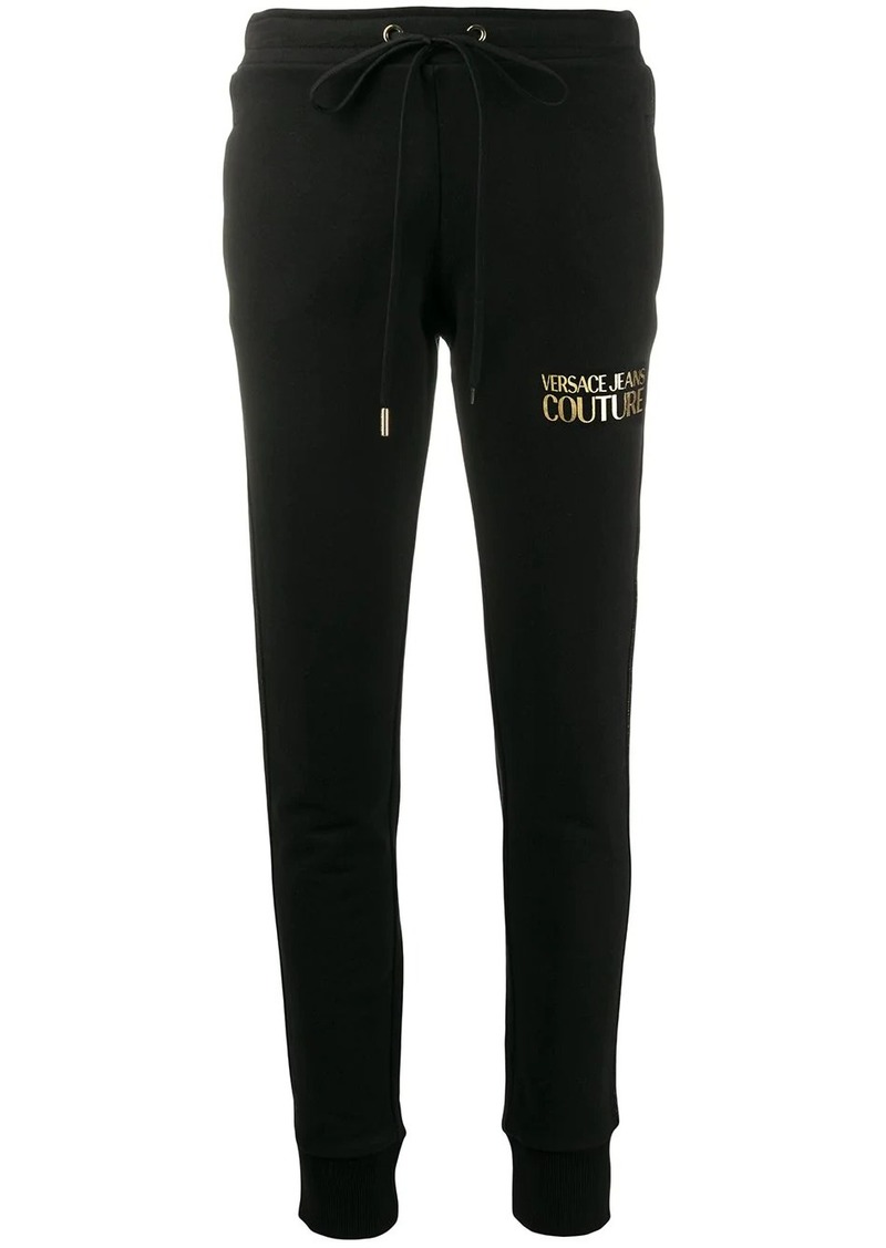 Versace logo-print track trousers