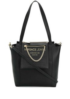 Versace logo shopper tote