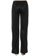 Versace Logo Side Bands Jersey  Track Pants