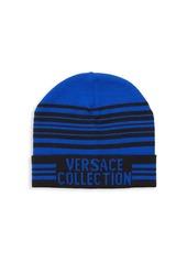 Versace Logo Stripe Hat