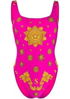 Versace logo swimsuit