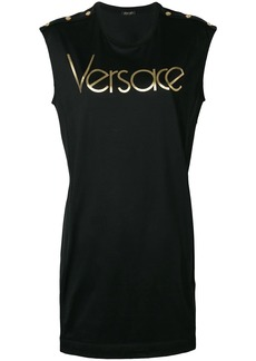 Versace logo T-shirt dress