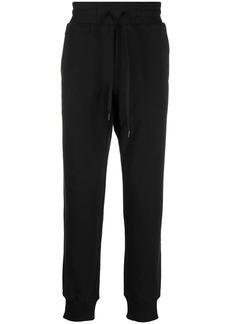 Versace logo-tape track pants