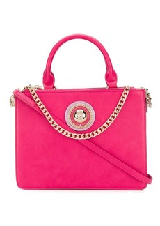 Versace logo top-handle tote