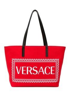 Versace logo tote