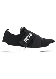 Versace logo touch strap sneakers