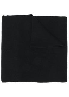 Versace logo trim scarf