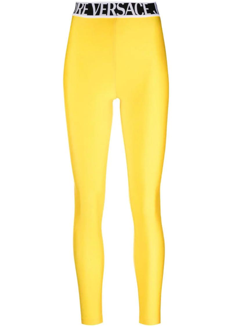 logo-waistband leggings