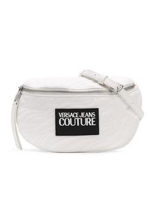 Versace logo zipped belt bag