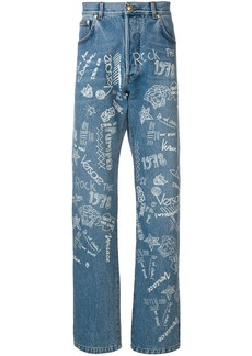 Versace Love From Donatella jeans