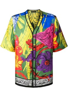 Versace Magna Grecia print shirt