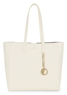 Versace Medallion Leather Tote