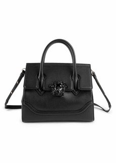 Versace Medium Palazzo Empire Leather Satchel