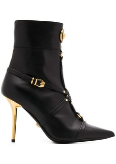 Versace Medusa ankle boots