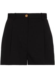 Versace Medusa-button wool shorts