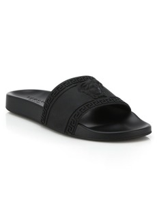 Versace Medusa Cardinal Slide Sandals