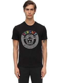 Versace Medusa Cotton Jersey T-shirt