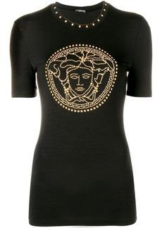 Versace Medusa crystal-embellished top
