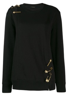 Versace Medusa detailed knit jumper