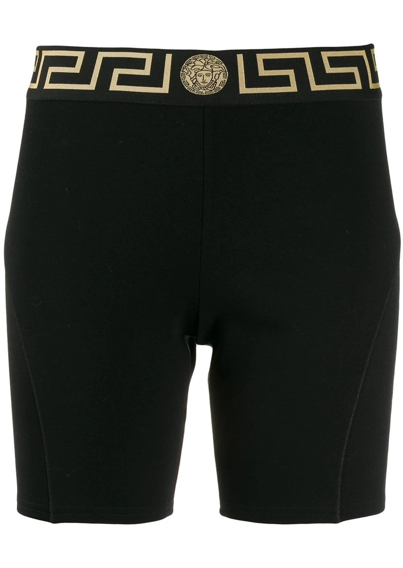 Versace Medusa head fitted shorts
