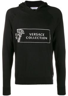Versace Medusa Head logo hoodie