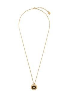 Versace Medusa head medallion necklace