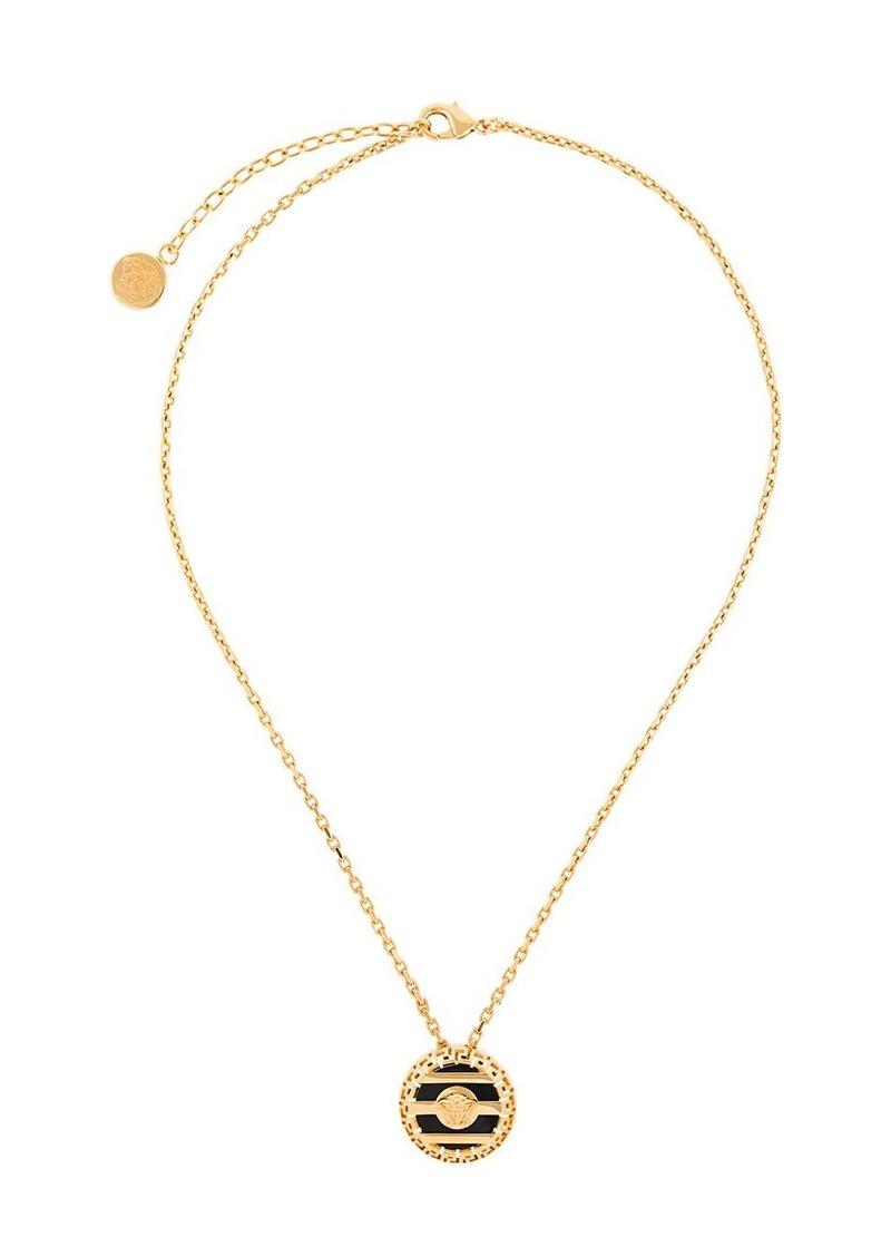 Versace Medusa head pendant necklace