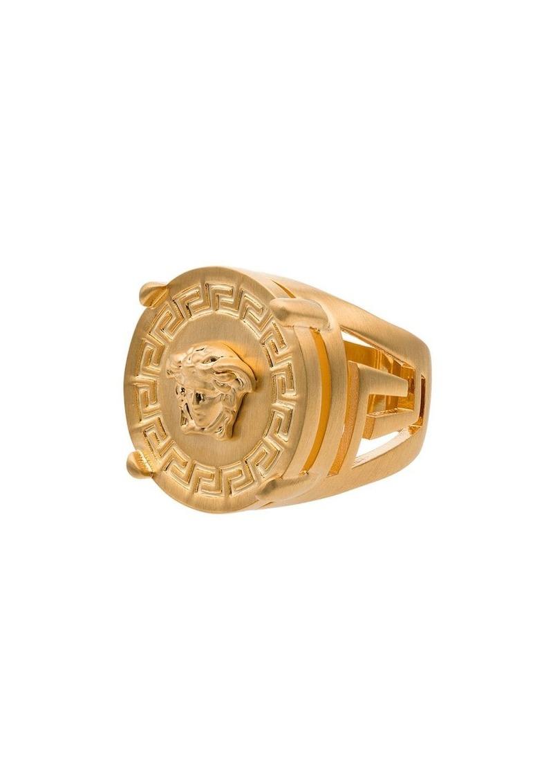 Versace Medusa head ring