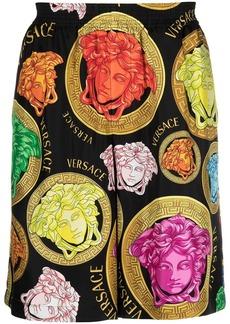 Versace Medusa Head track shorts