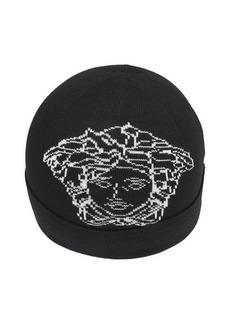 Versace Medusa knitted beanie