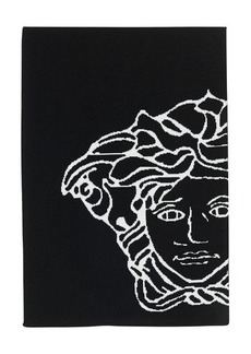 Versace Medusa knitted scarf