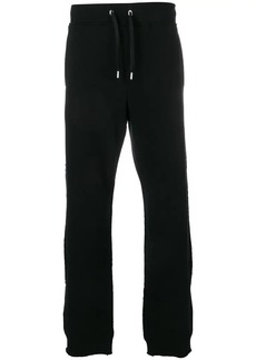 Versace Medusa logo patch track trousers