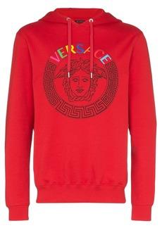 Versace Medusa logo-print hoodie