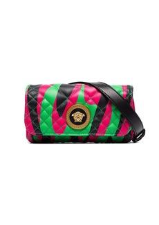 Versace Medusa logo quilted belt bag
