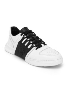 Versace Medusa Low Leather Sneakers