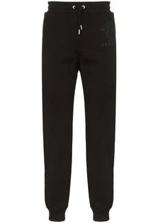 Versace Medusa motif patch track pants
