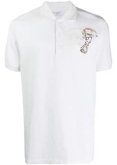 Versace Medusa motif polo shirt