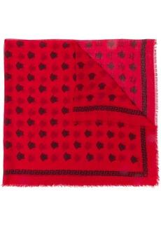 Versace Medusa pattern scarf