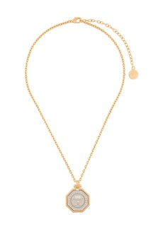 Versace Medusa plated necklace