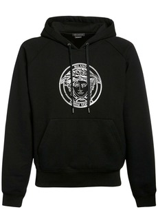 Versace Medusa Print Cotton Sweatshirt Hoodie