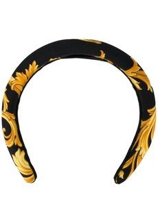 Versace Medusa print hairband